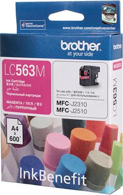 Фото - Картридж Brother LC 563 M пурпурный брюки lc waikiki lc waikiki mp002xw1f00t