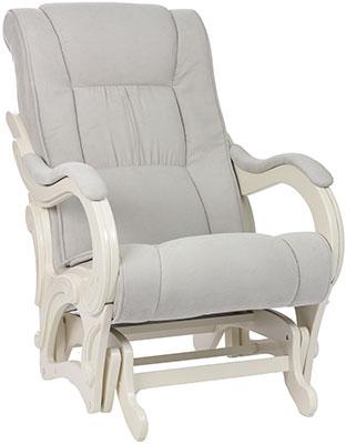 Кресло для кормления Milli Style Дуб шампань ткань Verona Light Grey 4627159508476 m style кресло lenie grey