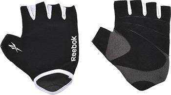 Перчатки Reebok S/M серый RAEL-11133GR футболка мужская reebok wor c graphic tee цвет серый ay2245 размер m 48 50