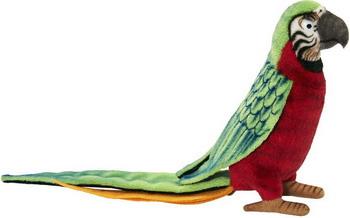 Мягкая игрушка Hansa Creation Попугай красный 3326 мягкая игрушка красный попугай 18 см