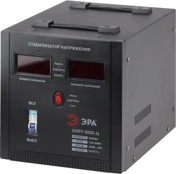 Стабилизатор напряжения ЭРА СНПТ-5000-Ц машинка для стрижки babyliss pro fx44e