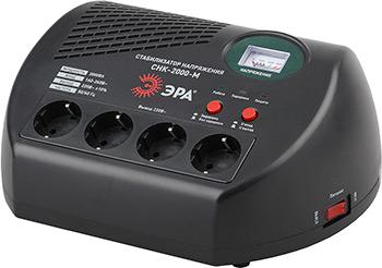 Стабилизатор напряжения ЭРА СНК-2000-М стабилизатор напряжения ippon avr 1000 4 розетки 1 м черный