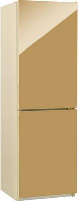 Двухкамерный холодильник NordFrost NRG 119NF 542 золотистый стекло двухкамерный холодильник норд nrg 119 542 золотистое стекло