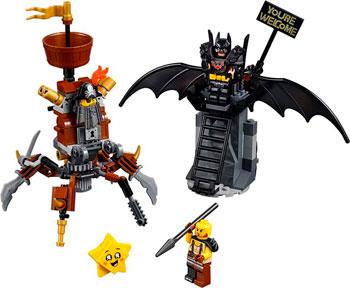 Конструктор Lego Боевой Бэтмен и Железная борода 70836 suunto d6i novo black zulu