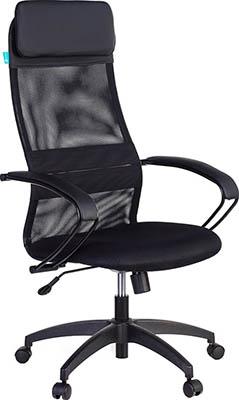 Кресло Бюрократ CH-608/BLACK черный кресло руководителя бюрократ ch 608 black чёрный