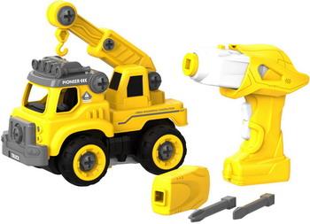 Конструктор Shantou Gepai для сборки Подъемного крана с пультом ДУ (желтый) (CJ-1365046) 1CSC20003893