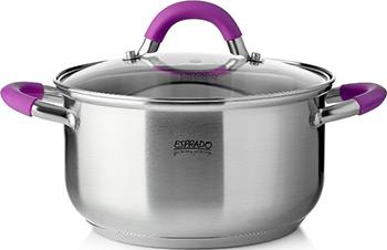 Кастрюля Esprado Almonte 24*11 5 см 5 0 л нерж. сталь форма для льда best home kitchen рыбка 20 5 11 5 2 см