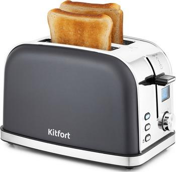 Фото - Тостер Kitfort KT-2036-5 тостер kitfort kt 2036 3