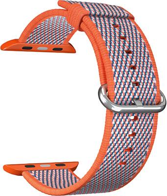 Ремешок для часов Lyambda для Apple Watch 38/40 mm POLIS DSN-02-01A-40-OR Orange ремешок для часов lyambda для apple watch 38 40 mm polis dsn 02 02a 40 rd red