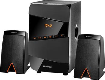 Акустическая система 2.1 Defender X361 36Вт BT/FM/MP3/SD/USB/LED/RC (65361)