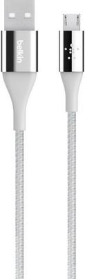 Фото - Кабель Belkin USB папа/microUSB папа 1 2м серый (F2CU051bt04-SLV) belkin f2cu012 usb microusb розовый