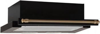 Вытяжка ELIKOR Интегра 60П-400-В2Л (КВ II М-400-60-260) антрацит/рейлинг бронза 841038 вытяжка elikor интегра 60 антрацит бронза