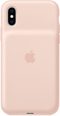Чехол-аккумулятор Apple для iPhone XS Max Smart Battery Case - Pink Sand MVQQ2ZM/A