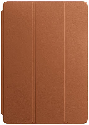 Чехол Apple Leather Smart Cover for iPad (7th generation) Air (3rd - Saddle Brown MPU92ZM/A