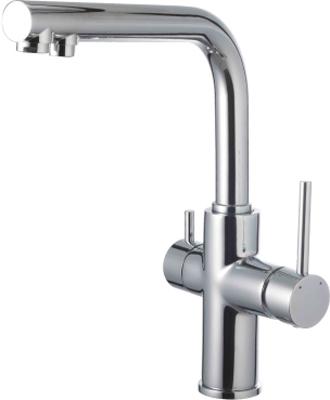 Кухонный смеситель Lemark Comfort LM3060C для кухни с подключением к фильтру с питьевой водой