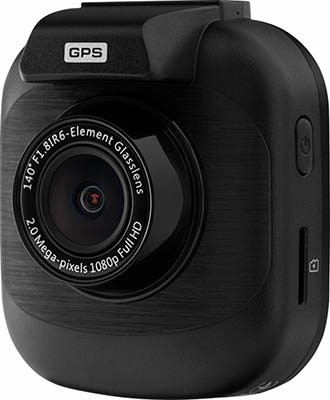 Автомобильный видеорегистратор Prestigio RoadRunner 415GPS черный