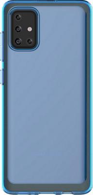 Чеxол (клип-кейс) Samsung Galaxy A71 araree A cover синий (GP-FPA715KDALR)