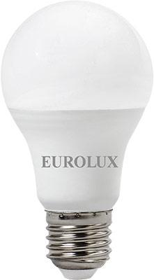 Фото - Лампа светодиодная Eurolux LL-E-A60-13W-230-4K-E27 (груша 13Вт нейтр. Е27) белый лампочка ресанта груша ll r a60 13w 230 3k e27 76 1 17
