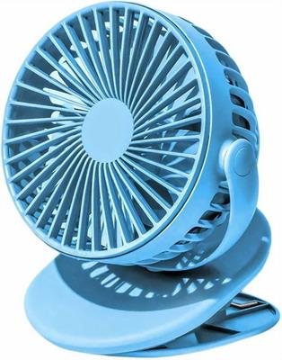 Портативный вентилятор на клипсе Xiaomi (Mi) SOLOVE clip electric fan 3 Speed Type-C (F3 Dark Blue) темно-синий