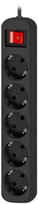 Удлинитель с заземлением Defender G518 Выключатель 1.8 м 5 розеток удлинитель defender e530 3 м 5 розеток 99230