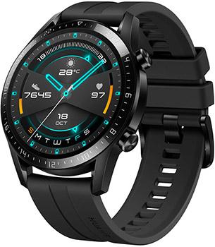 Умные часы Huawei GT 2 LTN-B19 46мм матовый черный умные часы huawei watch gt ftn b19 black