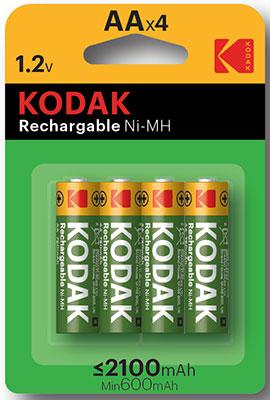 Аккумулятор KODAK HR6-4BL 2100mAh Pre-Charged 30955110