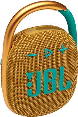Портативная акустика JBL CLIP4 YEL