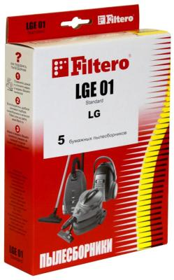 Набор пылесборников Filtero, LGE 01 (5) Standard, Россия  - купить со скидкой