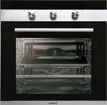 Встраиваемый электрический духовой шкаф Cata CM 760 AS BK встраиваемый электрический духовой шкаф cata me 7107 bk