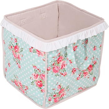 Сумка для игрушек BabyDomiki Fairy Rose (Феи Роз) голубой ящики для игрушек альтернатива башпласт контейнер для игрушек феи