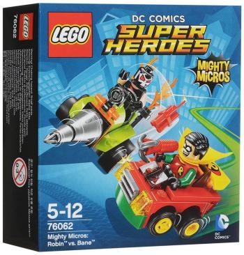 Конструктор Lego Super Heroes Робин против Бэйна 76062 конструктор lego super heroes тор против локи 79 элементов 76091