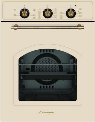 Встраиваемый электрический духовой шкаф Schaub Lorenz SLB EB 4610 rustic beige