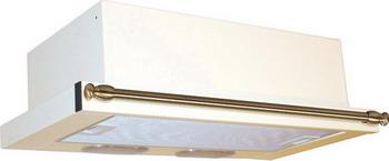 Вытяжка ELIKOR Интегра 60П-400-В2Л (КВ II М-400-60-260) крем/рейлинг бронза 841214 встраиваемая вытяжка elikor интегра 50п 400 в2л антрацит рейлинг бронза