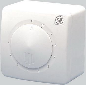 Электронный однофазный регулятор скорости Soler & Palau Reb 2.5N (белый) 03-0303-003 342 0303 a
