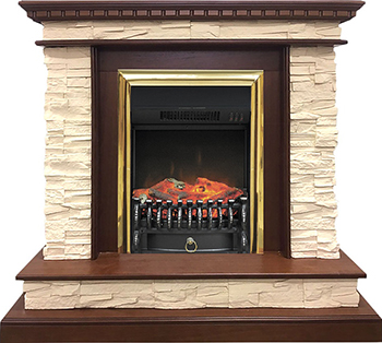 Каминокомплект Royal Flame Calgary с очагом Fobos BR (дуб) 211164923894 каминокомплект royal flame sorrento угл с очагом fobos br орех