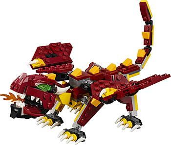 Конструктор Lego Мифические существа Creator 31073 цены