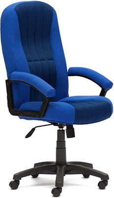 Кресло Tetchair СН888 (ткань/сетка синий/синий 2601/10) кресло компьютерное tetchair энзо enzo доступные цвета обивки искусств чёрная кожа синяя сетка