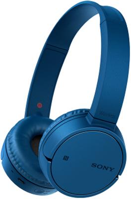 Накладные наушники Sony Bluetooth WH-CH 500 L.E синий цена и фото