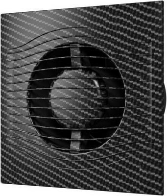 Вентилятор вытяжной с обратным клапаном DiCiTi SLIM 5C black carbon
