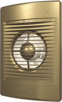 Вентилятор вытяжной с обратным клапаном DiCiTi D 125 декоративный (STANDiCiTi DARDiCiTi D 5C champagne)