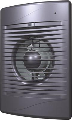 Вентилятор осевой вытяжной с обратным клапаном DiCiTi D 100 (STANDiCiTi DARDiCiTi D 4C DiCiTi Dark gray met)
