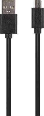 Фото - Кабель Red Line USB-micro USB 1.5А черный (мягкий футляр) футляр ansmann akku box 4000033