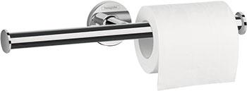 Держатель туалетной бумаги двойной, без крышки Hansgrohe Logis Universal 41 717 000 держатель для туалетной бумаги hansgrohe logis 40517000
