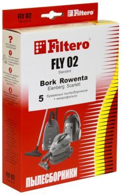Набор пылесборники + фильтры Filtero FLY 02 (5) Standard цена
