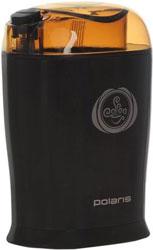 Кофемолка Polaris PCG 1017 коричневый кофемолка polaris pcg 0815a