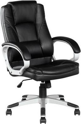 Кресло College BX-3177 Черное кресло руководителя college bx 3177