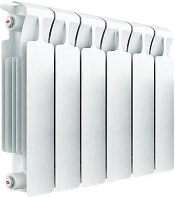 Водяной радиатор отопления RIFAR Monolit 350 х 6 сек биметаллический радиатор rifar рифар b 350 6 сек кол во секций 6 мощность вт 816