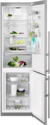 Двухкамерный холодильник Electrolux EN 3889 MFX CustomFlex двухкамерный холодильник electrolux en 3452 jow