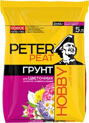 Грунт PETER PEAT Универсальный для цветочных культур линия ХОББИ 5л