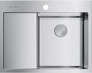 Кухонная мойка OMOIKIRI AKISAME 65-IN-R нерж.сталь/нержавеющая сталь (4973059) недорого